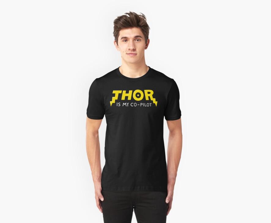 Thor is my Co-Pilot by vonplatypus