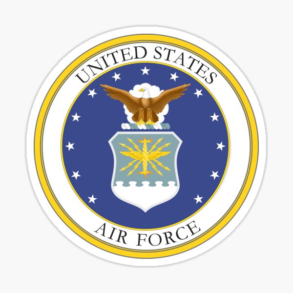 USAF Coat of Arms Sticker