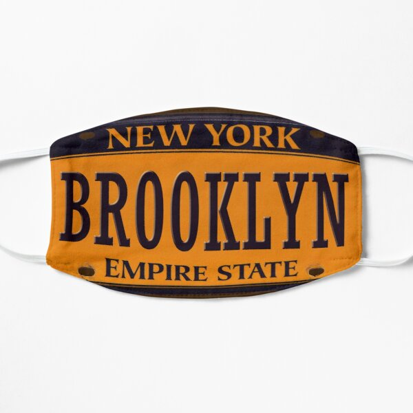Brooklyn ,New York City Plate Number, Creative Gift Mask