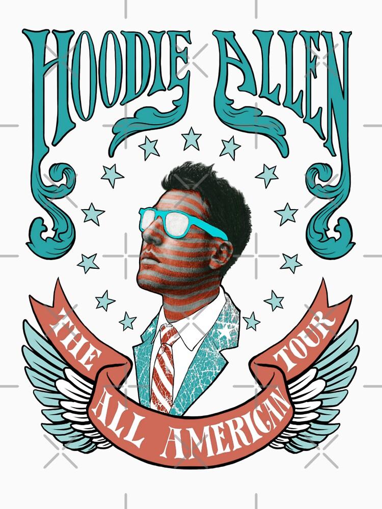 Hoodie Allen Tour 2012 Shirt | Unisex T-Shirt