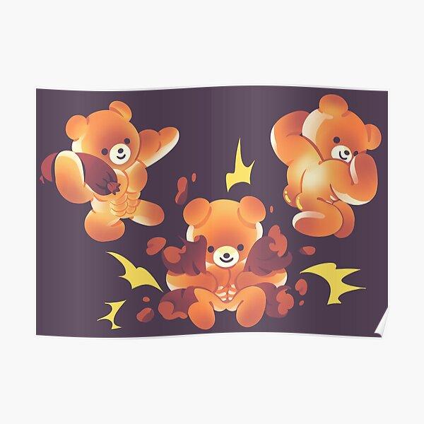 Buff Bread Bears Toasty Poster