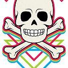 Skull - Neon by hmx23