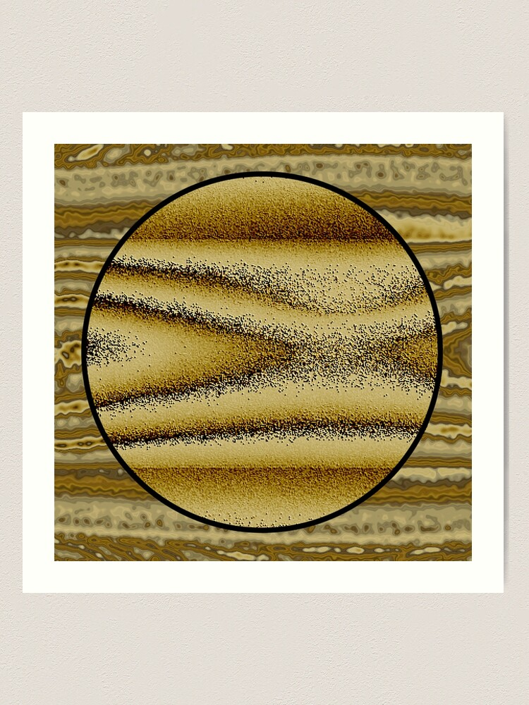 Alternate view of dune Art Print