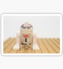 Star wars action figure R2D2 robot Sticker