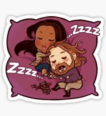 Sleepy Heads.  Sticker