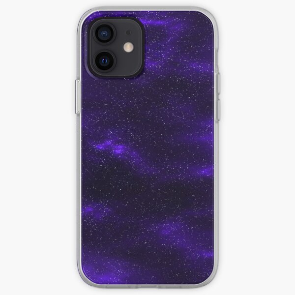 Purple Galaxy iPhone Soft Case