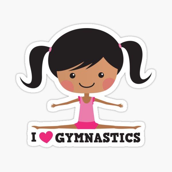 Women S Gymnastics Floor Exercise Stock Illustration - Illustration of  athletic, illustration: 5524841