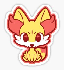 chibi fennekin sticker
