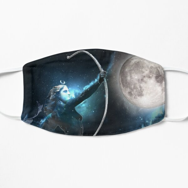Artemis the Moon Flat Mask