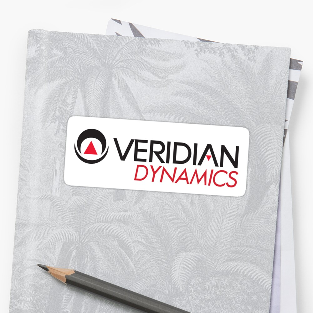 Veridian Dynamics Logo Sticker by Gregory Colvin