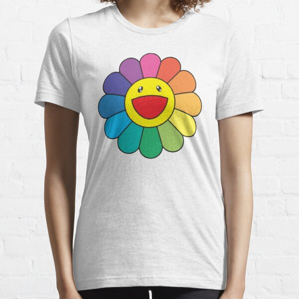 Flor japonesa tekashi murakami Camiseta esencial