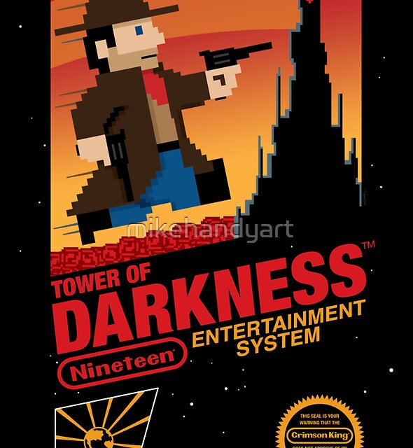 Tower of Darkness (STICKER) by mikehandyart