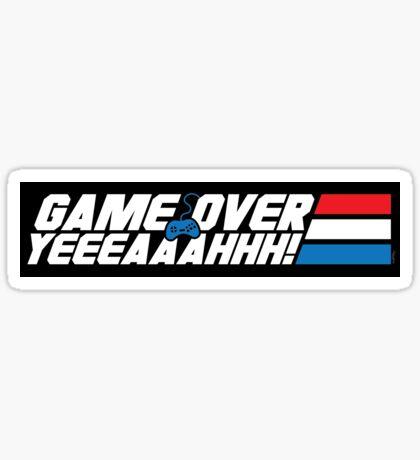 Game Over Yeah! (STICKER) Sticker