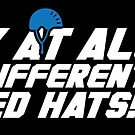 Look at All Your Different Colored Hats! (STICKER) by mikehandyart