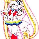 Chibi Sailor Moon by Shayera