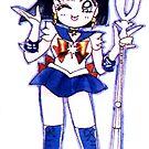 Chibi Sailor Saturn by Shayera