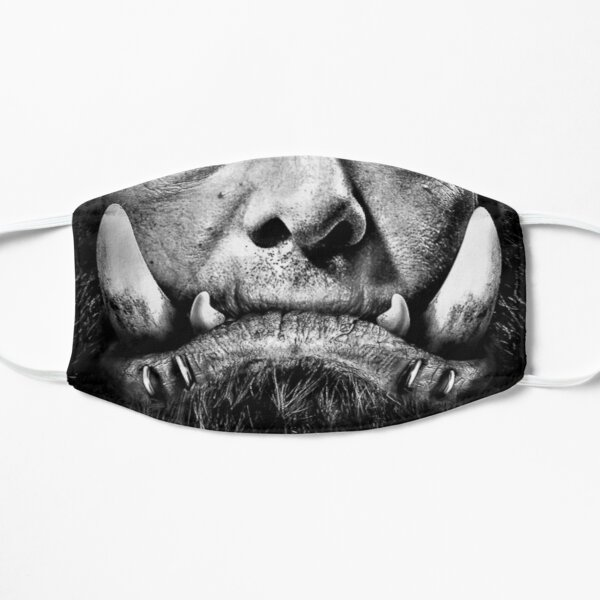 Orc Tusks  Mask
