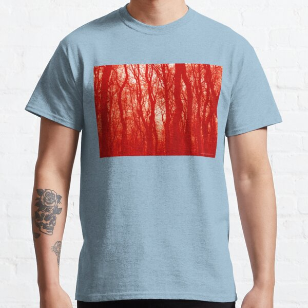 VELVET WOOD Red Classic T-Shirt