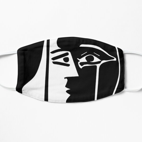 Pablo Picasso - The Kiss - Signature Flat Mask
