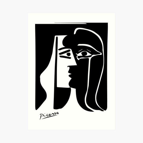 Pablo Picasso - The Kiss - Signature Art Print