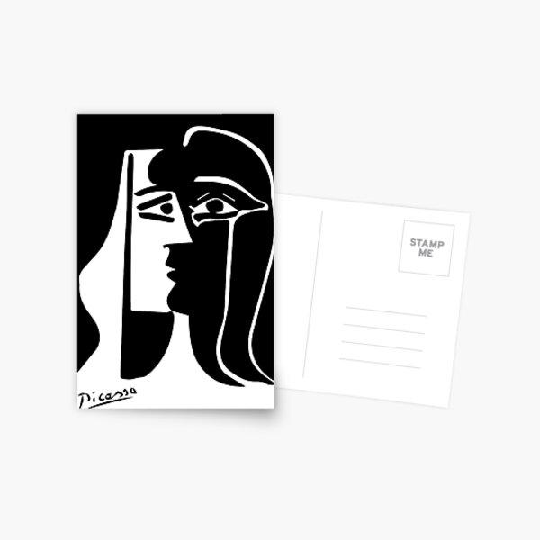 Pablo Picasso - Le baiser - Signature Carte postale