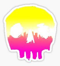 SKYLINE SKULL #1 Sticker