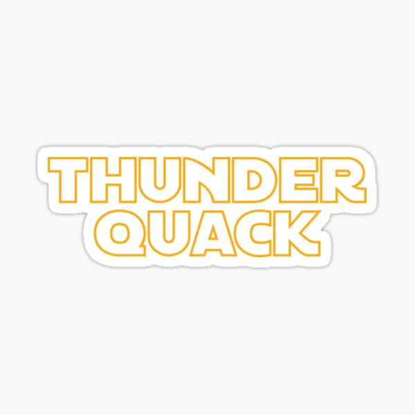 Use the Quacks Sticker