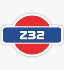 Z32 Badge Sticker