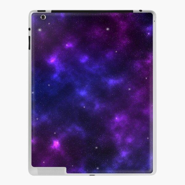 Shades of Purple Galaxy iPad Skin