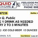 Beer Prescription  by pixelman