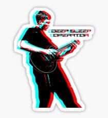 Deep Sleep Operator Guitarist Sticker
