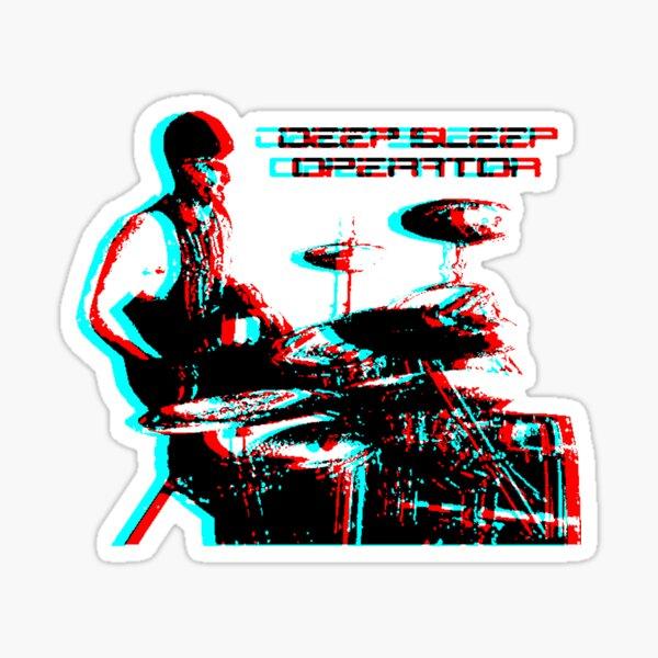 Deep Sleep Operator Drummer Sticker