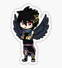 Dark Pit Drawing Stickers Redbubble