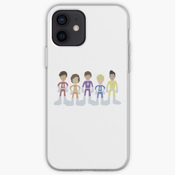Adventurous Adventures of One Direction Outlines  iPhone Soft Case