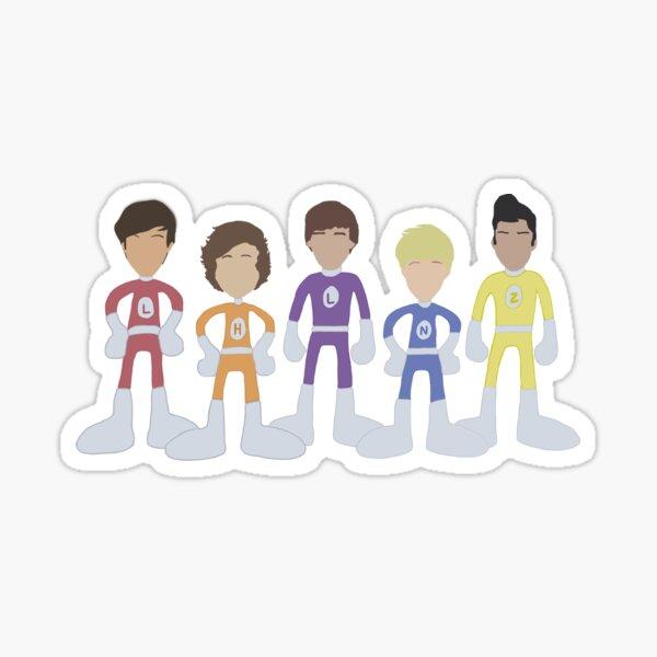 Aventures aventureuses de One Direction Outlines Sticker