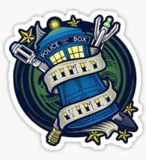 Timey Wimey (sticker) Sticker