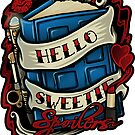 Hello Sweetie (sticker) by Ameda Nowlin