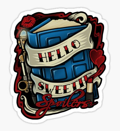 Hello Sweetie (sticker) Sticker