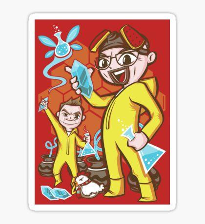 """""""The Legend of Heisenberg"""" (sticker) Sticker"""
