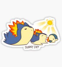 Sunny Day Attack..? Sticker