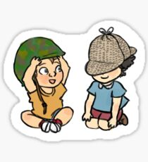 Army Doctor and Consulting Detective Sticker