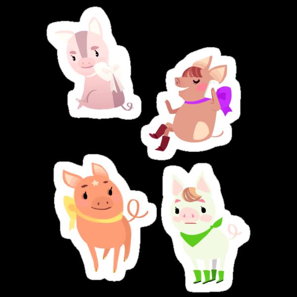 More Piggies by Ennemme