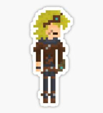 Ezreal, the Pixel Explorer Sticker