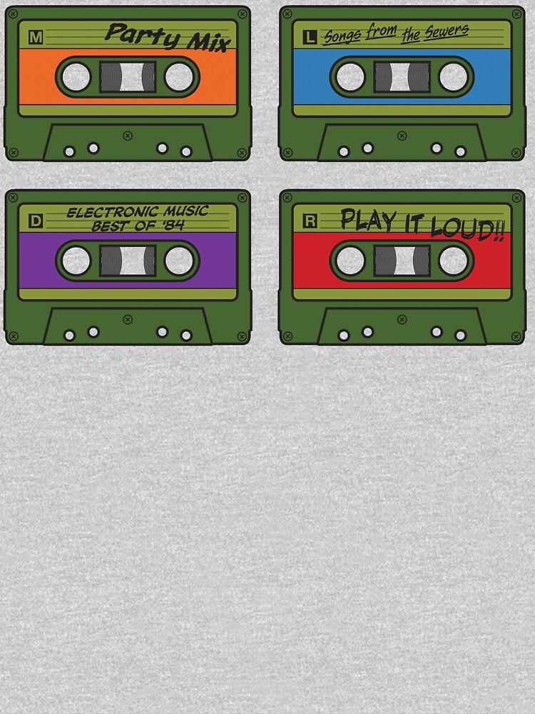 Teenage Mix Tapes by vonplatypus