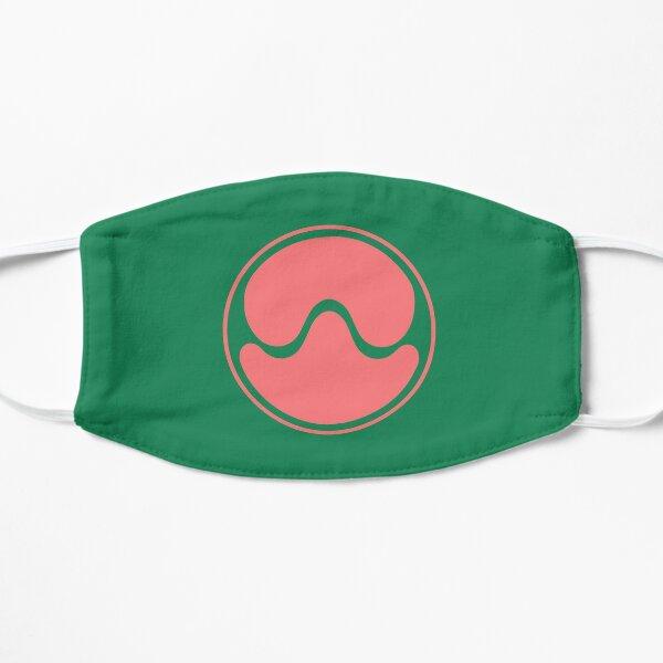 Logo Gaga Planet Chromatica (rose / vert) Masque sans plis