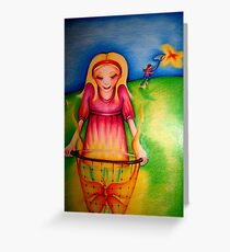 Butterfly Ali Greeting Card