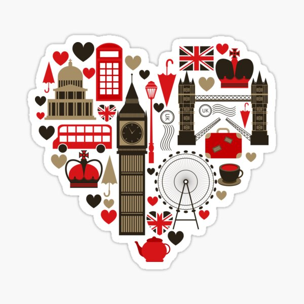 Love london Sticker