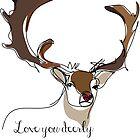 Love you deerly by StudioRenate