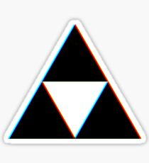 3D Triforce Sticker
