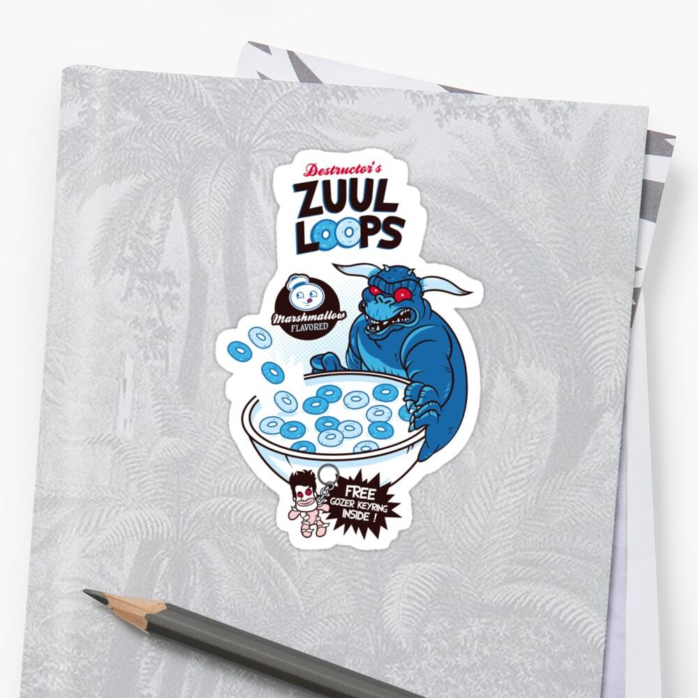 Zuul Loop Stickers by Geekkong